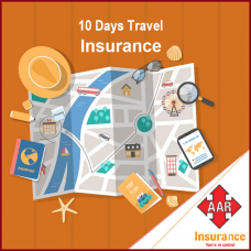 Sum Insured USD  60,000, [Age 0 to 70 Yrs] AAR Travel Insurance, 08 - 10 Days Trip, Silver Worldwide Plan