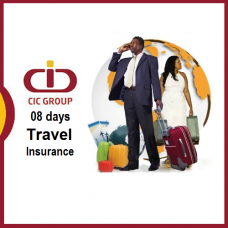 Sum Insured USD 200,000, [Age 0 to 69 Yrs] CIC Travel Insurance, 01 - 08 Days Trip, Silver Worldwide Plan